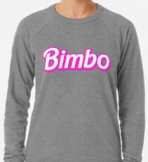 Hot Pink Bimbo Lightweight Sweatshirt