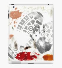 DIRTY Ketchup Footprint Coffee Stained roach Gag Print iPad Case/Skin