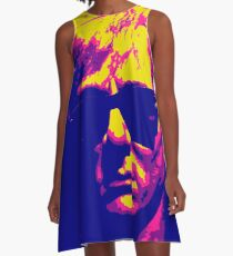 Andy Warhol in the style of... Andy Warhol A-Line Dress
