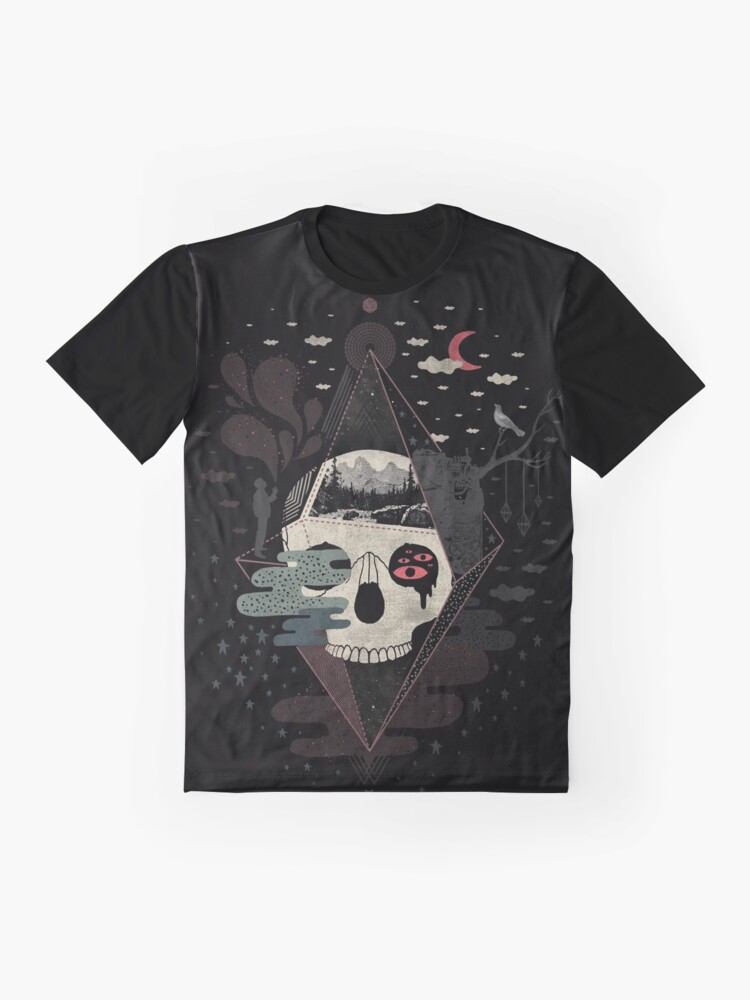 Alternate view of Happy Riddle Graphic T-Shirt