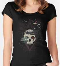 Happy Riddle Women's Fitted Scoop T-Shirt