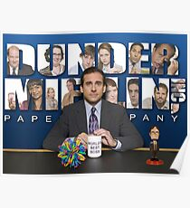 The office Michael Scott Poster