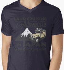 Landcruising Adventure in Japan - Curly font edition T-Shirt