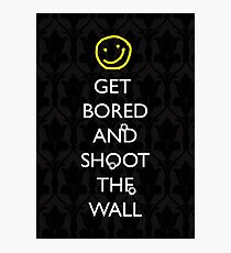 Smiley target Photographic Print