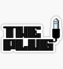 Are you the AuxKeeper?/The Plug - Pixels Sticker