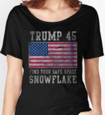 Trump 45 Suck It Up Buttercup Women's Relaxed Fit T-Shirt