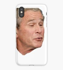 George W. Bush Face iPhone Case/Skin