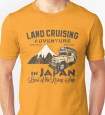 Landcruising Adventure in Japan - Straight font edition T-Shirt