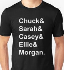 Chuck Characters Unisex T-Shirt