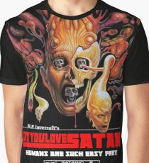 Say You Love Satan 80s Horror Podcast - From Beyond Graphic T-Shirt