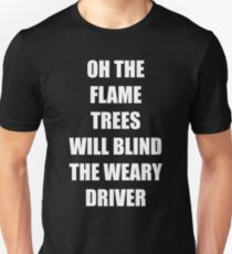 "Cold Chisel ""Flame Trees"" Unisex T-Shirt"