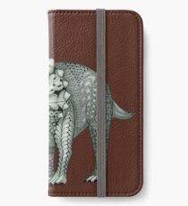 Triceratops iPhone Wallet/Case/Skin