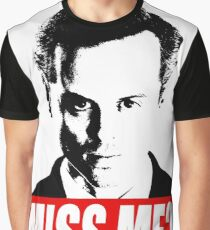 Miss Me? - Jim Moriarty - Sherlock Graphic T-Shirt