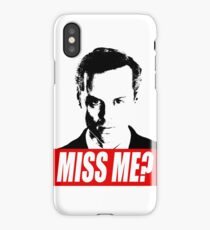 Miss Me? - Jim Moriarty - Sherlock iPhone Case
