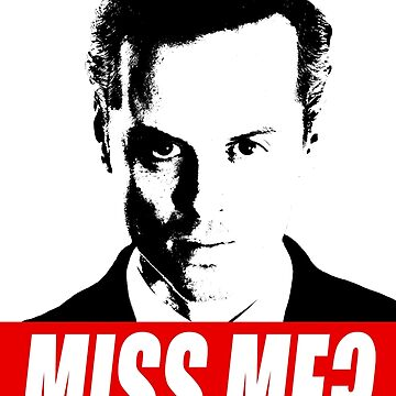 Miss Me? - Jim Moriarty - Sherlock by tirmedesign