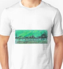 Green city landscape Unisex T-Shirt