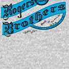 rogers bros monogram by usanewyork