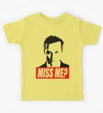 Miss Me? - Jim Moriarty - Sherlock Kids Tee