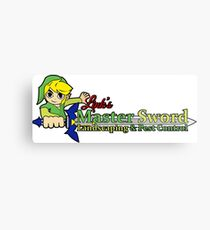 Links Master Sword Landscaping Metal Print