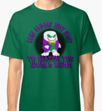 Joker Dr Who Adapoise Classic T-Shirt