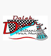 Dalek Diner 1 Photographic Print