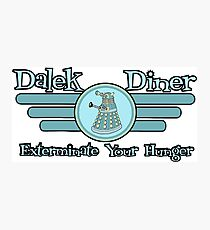 Dalek Diner 2 Photographic Print