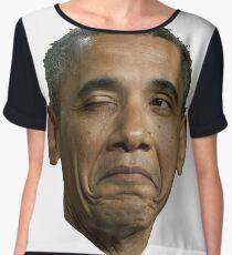 Barack Hussein Obama Chiffon Top