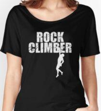 Stylish Rock Climbing Women's Relaxed Fit T-Shirt