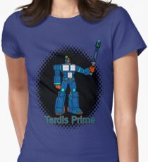 Tardis Prime Women's Fitted T-Shirt