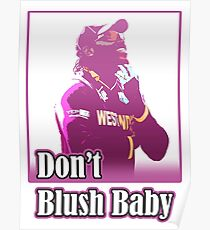 don't blush baby Poster