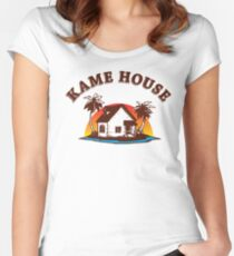 Kame House Women's Fitted Scoop T-Shirt