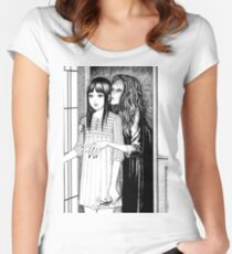 Whispering Woman Women's Fitted Scoop T-Shirt