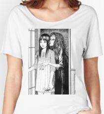 Flüsternde Frau Loose Fit T-Shirt