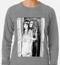Flüsternde Frau Leichter Pullover