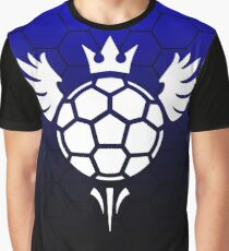Aerial Blue Graphic T-Shirt