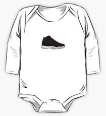 "Air Jordan XI (11) ""Space Jam"" One Piece - Long Sleeve"