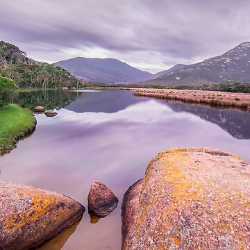 Smooth reflections, Tidal River - Australia by amorphousbeing