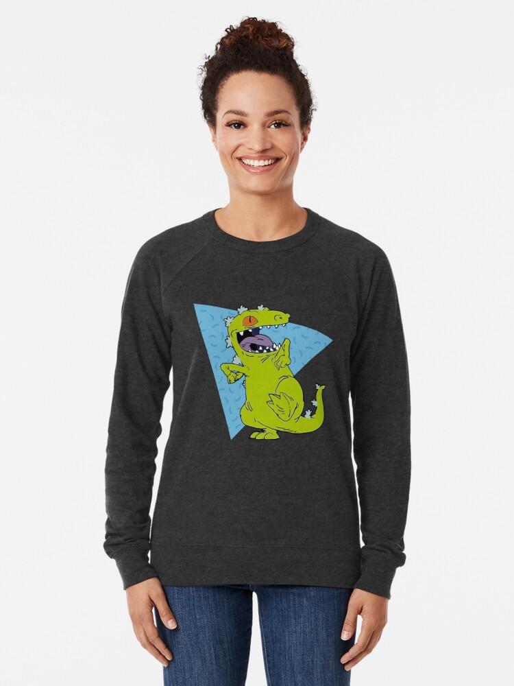 Alternative Ansicht von Reptar Hemd Leichter Pullover