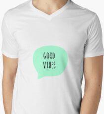 Good vibes  Men's V-Neck T-Shirt
