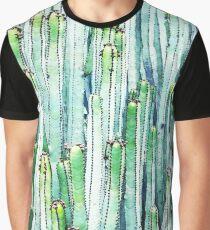Lost Cactus #redbubble #decor #buyart Graphic T-Shirt