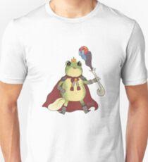 Wizard Frog Havin a Good Time Unisex T-Shirt