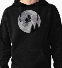 Xenomorph ET Moon Ride Pullover Hoodie