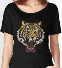 Bow Tie Tiger Women's Relaxed Fit T-Shirt