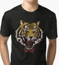 Bow Tie Tiger Tri-blend T-Shirt