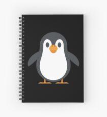 Cute Penguin Graphic Design Love Friend Happy Spiral Notebook