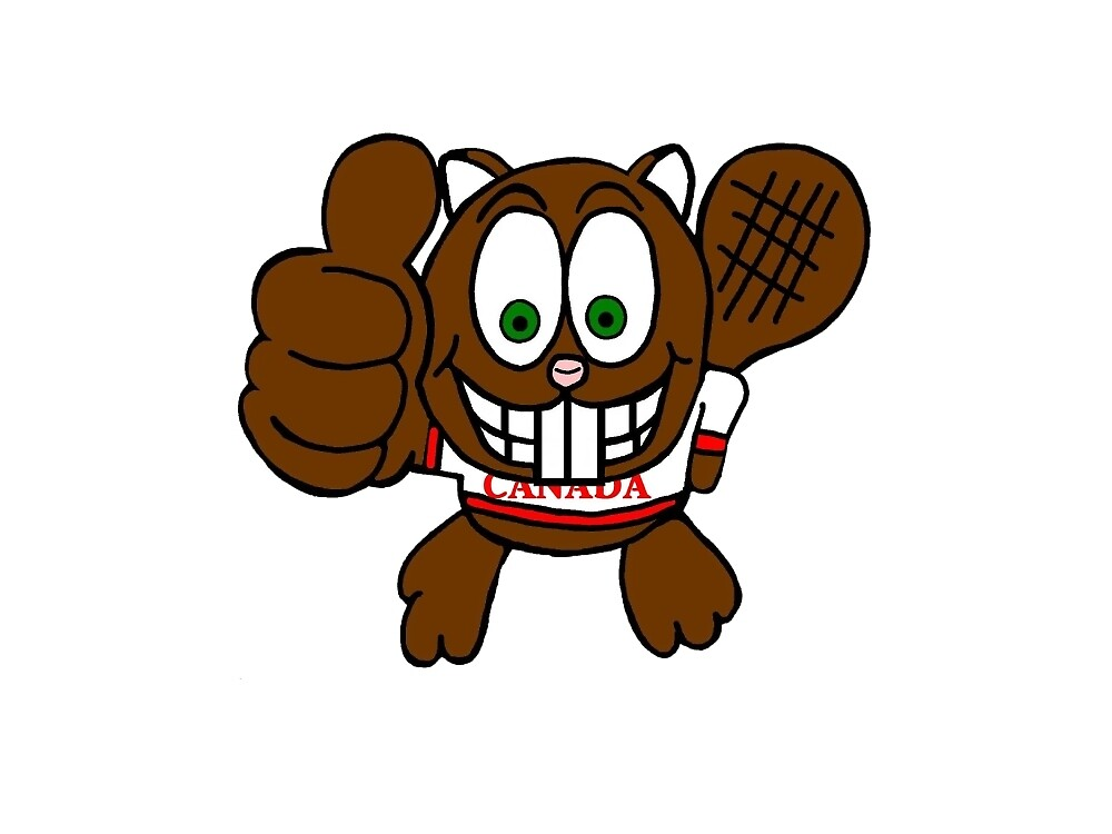 Thumbs up Canadian Beaver by imphavok