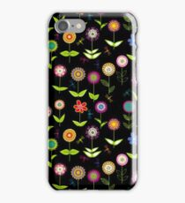 Colorful Bright Floral Pattern iPhone Case/Skin