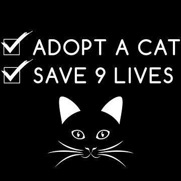 Adopt A Cat Save Nine Lives by yosifov