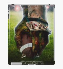 Blood Bowl - fanart movie poster iPad Case/Skin