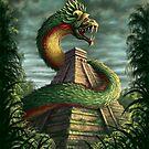 Quatzalcoatl by Paul Mudie